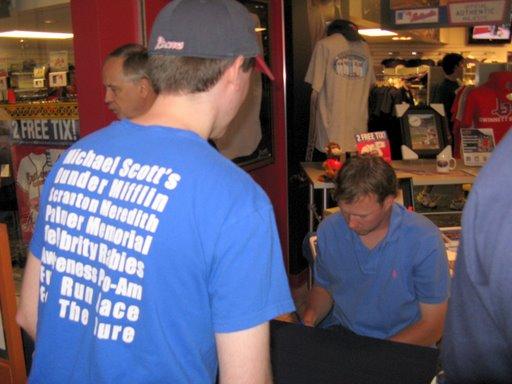 Tommy Hanson Autograph